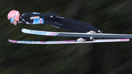 Liebt das Fliegen: Dawid Kubacki, Skispringer aus Polen.