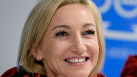 Äußerte sich zu einem Comeback: Eiskunstläuferin Aljona Savchenko.