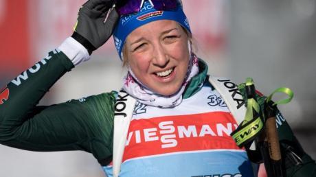 Fehlt beim Heim-Weltcup in Oberhof: Franziska Preuß.