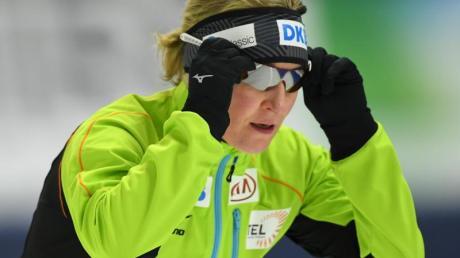 Seit dem Rückzug von Hauptsponsor DKB sind die Kassen beim Deutschen Eisschnelllauf-Verband leer.