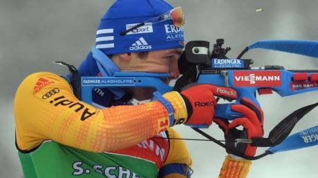 Will zurück in die Erfolgsspur: Biathlet Simon Schempp.