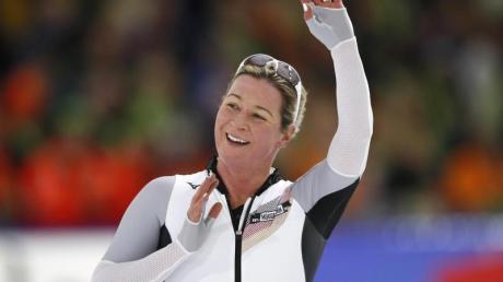 Claudia Pechstein nimmt zum 22. Mal an einer Eisschnelllauf-EM teil.