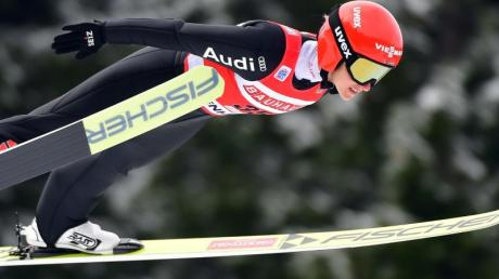 Verpasste in Sapporo die Top-10: Katharina Althaus.