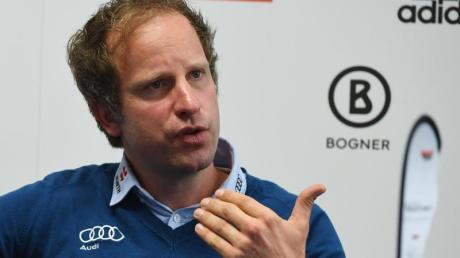 Erkennt bei den Biathleten einen klaren Aufwärtstrend: Der neue Sportliche Leiter Bernd Eisenbichler.