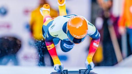Siegte mit Streckenrekord in Innsbruck: Jacqueline Lölling.