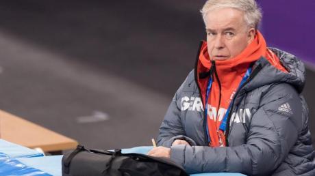 Udo Dönsdorf ist Sportdirektor der Deutschen Eislauf-Union.