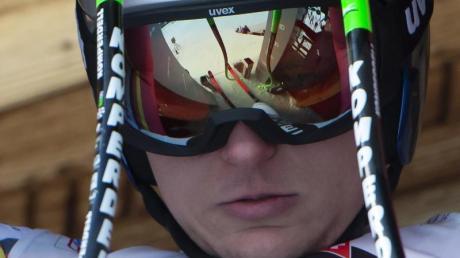 War von der Verletzung seines Konkurrenten Dominik Paris überrascht: Thomas Dreßen.