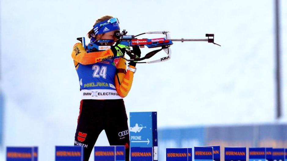 biathlon gestern ergebnis