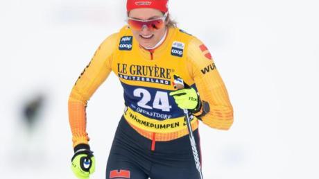 Laura Gimmler kam im Sprint nicht über das Viertelfinale hinaus.