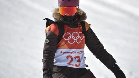 Die Snowboarderin Silvia Mittermüller.