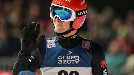 Lokalmatador Stephan Leyhe hat die Führung in der Willingen-Five-Wertung übernommen.