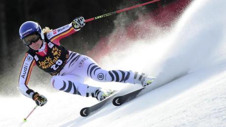 Lena Dürr belegte beim Riesenslalom in Kranjska Gora den 23. Rang.