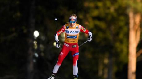 Die Norwegerin Therese Johaug gewann erneut.