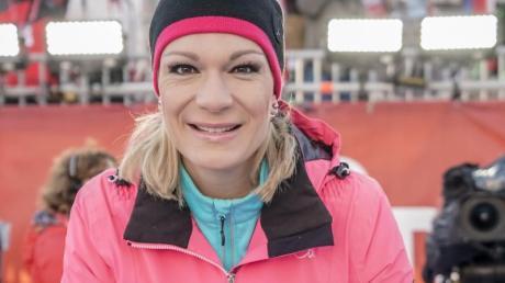 Maria Höfl-Riesch traut Abfahrts-Spezialist Thomas Dreßen die Rolle des neuen Gesichts des deutschen Wintersports zu.