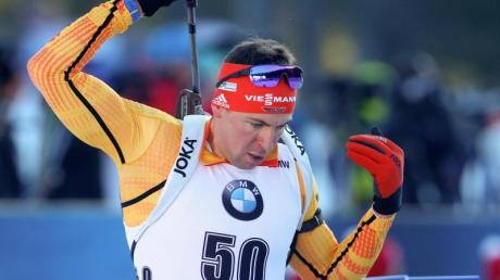Kommt in Antholz über 20 Kilometer zum Einsatz: Philipp Nawrath.