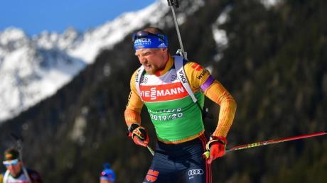 Steht vor seinem ersten Einsatz bei den Biathlon-Weltmeisterschaften: Erik Lesser.