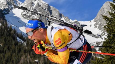 Für Erik Lesser ist die Biathlon-Saison beendet.
