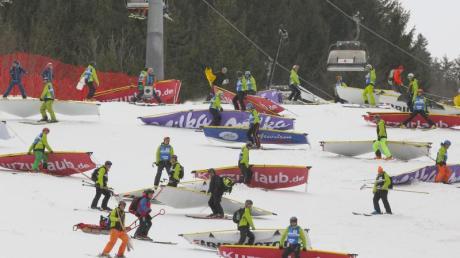 Der Damen-Weltcup in Ofterschwang wurde abgesagt.
