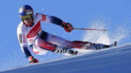 Alexis Pinturault aus Frankreich gewann den Riesenslalom in Hinterstoder.