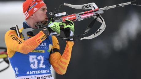 Johannes Kühn ist beim Weltcup-Sprint in Nove Mesto als bester Deutscher auf Rang elf gelaufen.