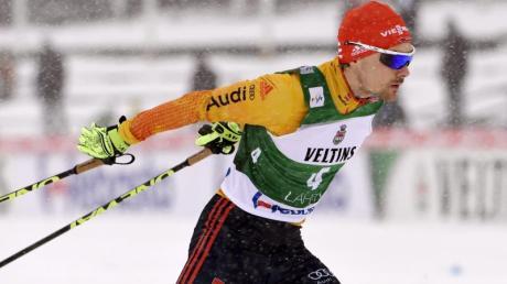 Fabian Rießle wurde in Oslo Zweiter.