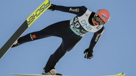 Hat nur noch sporadische Chancen auf das Gelbe Trikot: Skispringer Karl Geiger.
