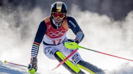 Skirennfahrer Fritz Dopfer beendet alpine Karriere.