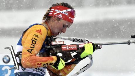 Siegte beim Saisonfinale in Kontiolahti: Denise Herrmann.