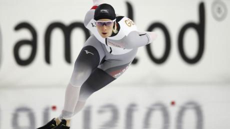 Roxanne Dufter beendet ihre Eisschnelllauf-Karriere.