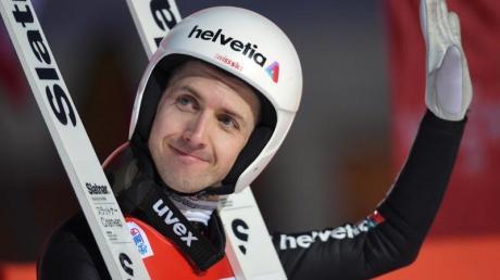 Nimmt die nächsten Winterspiele ins Visier: Der Schweizer Skispringer Simon Ammann.