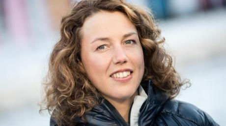 Die ehemalige Biathletin Laura Dahlmeier setzt sich für den Kampft gegen den Klimawandel ein.