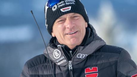 Bereitet Deutschlands Ski-Asse in diesem Jahr in Europa auf die Saison vor: DSV-Alpin-Direktor Wolfgang Maier.