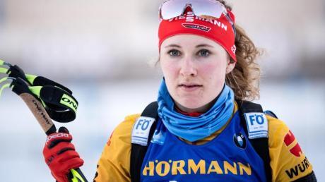 Sicherte sich in Altenberg den nationalen Meistertiel auf Skirollern: Janina Hettich.