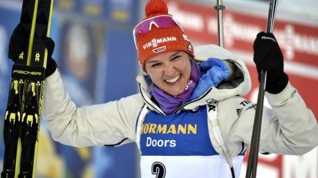 Denise Herrmann hofft auf eine erfolgreiche Biathlon-Saison.