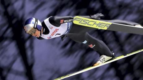 Andreas Wellinger ist in dieser Saison in allen drei Einzelwettbewerben im ersten Durchgang ausgeschieden.