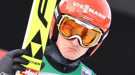 Richard Freitag musste das deutsche Team verlassen.
