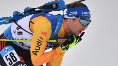 Simon Schempp verlor seinen Platz im deutschen Biathlon-Team.