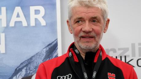Franz Steinle, Präsident des Deutschen Ski-Verbandes.