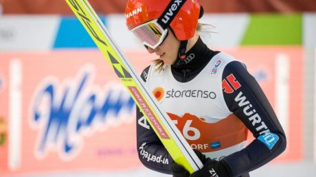 Deutschlands Top-Skispringerin: Katharina Althaus.