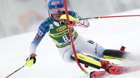 Mikaela Shiffrin setzte sich in der Slowakei durch.