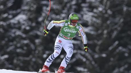 Erreichte im Super G in Saalbach die Top Ten: Andreas Sander.