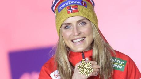 Die Norwegerin Therese Johaug errang bei der Nordischen Ski-WM bei all ihren Starts souverän den WM-Titel.