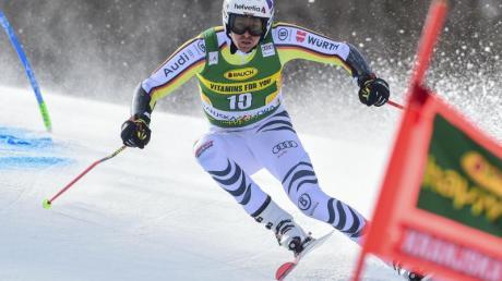 Stefan Luitz wurde beim Riesenslalom in Kranjska Gora Zehnter.