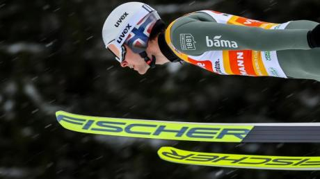 Hat mit dem Erfolg beim Springen in der Vogtlandarena den Grundstein für den Sieg im Gesamtweltcup gesorgt: Jarl Magnus Riiber.