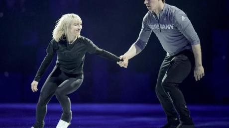 Werden ihre Karriere beenden und nicht in den Wettkampf zurückkehren: Aljona Savchenko und Bruno Massot.