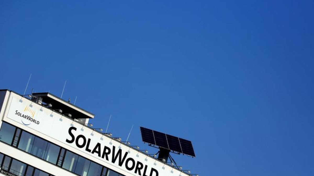 Solarworld Finanznachrichten