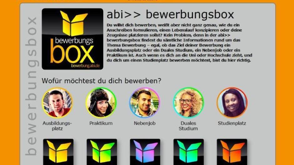Ausbildung Bewerbungsbox Im Netz Voller Tipps Fur Berufsanfanger