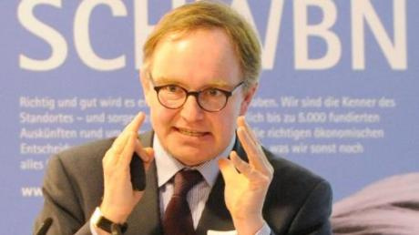 Prognos-Experte Christian Böllhoff macht den Schwaben Mut.