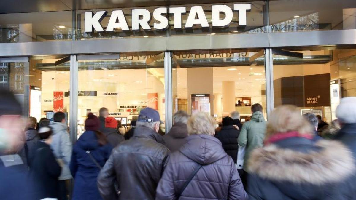 Finanznachrichten Karstadt
