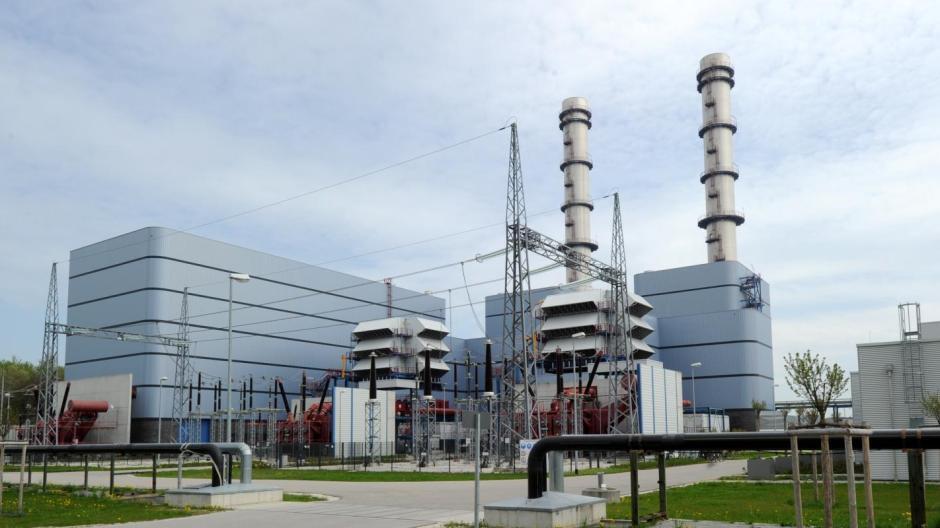 Der Block 5 des Gaskraftwerks Irsching bei Ingolstadt, das als eines der modernsten der Welt gilt.